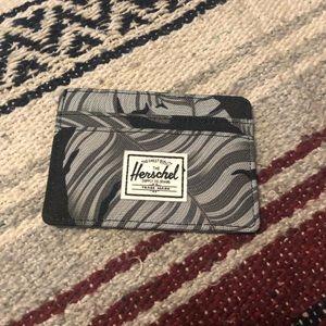 """Herschel Supply """"Palm Tree"""" Charlie Card Case"""
